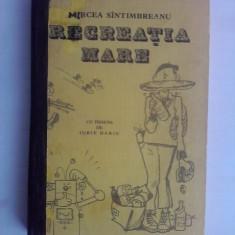 Recreatia mare - Mircea Sintimbreanu (ilustratii de Iurie Darie) / C19P - Carte educativa
