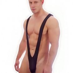 Mankini Sexy Chilot Chiloti Tanga Underwear Barbati Male Lenjerie - Chiloti barbati, Marime: Masura unica, Culoare: Alb