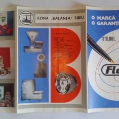 Reclama romaneasca - pliant publicitar TRANSILVANIA PUBLICITATE - UZINA