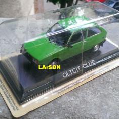 Macheta Oltcit Club 1981 + revista DeAgostini Masini de Legenda nr.11