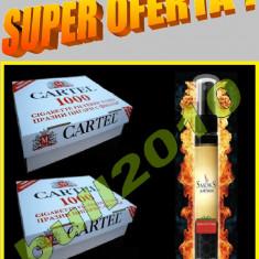2 X CARTEL 1000 tuburi tigari, filtre + AROMA PENTRU TUTUN - Filtru tutun
