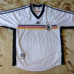Tricou superb Adidas Deutscher Fusball-Bund Official Garment; marime L - Tricou barbati Adidas, Marime: L, Culoare: Din imagine, Maneca scurta