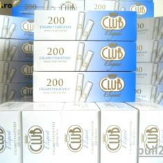 TUBURI CLUB ELEGANT 200 tuburi tigari, filtre tigari, pentru injectat tutun - Foite tigari