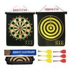 Darts magnetic, cu suprafata dubla de joc - Dartboard