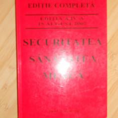 SECURITATEA SI SANATATEA IN MUNCA - CARTE DE PROTECTIA MUNCII-2007, Alta editura