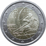 ITALIA moneda 2 euro comemorativa 2006, UNC