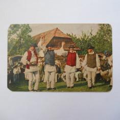 CARTE POSTALA HORA IN TRANSILVANIA, 1918