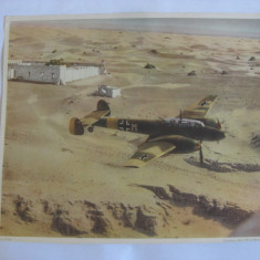 FOTO AVION MLITAR GERMAN WWII MESSERSCHMITT 110