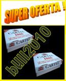 2 X CARTEL 1000  filtre tigari / cutie - 2.000 tuburi tigari injectat tutun