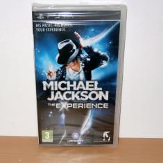 Vand joc Sony Playstation PSP - Michael Jackson : The Experience , nou, sigilat