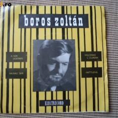 Zoltan boros A Ven Ligetben disc vinyl single muzica pop rock electrecord - Muzica Rock electrecord, VINIL