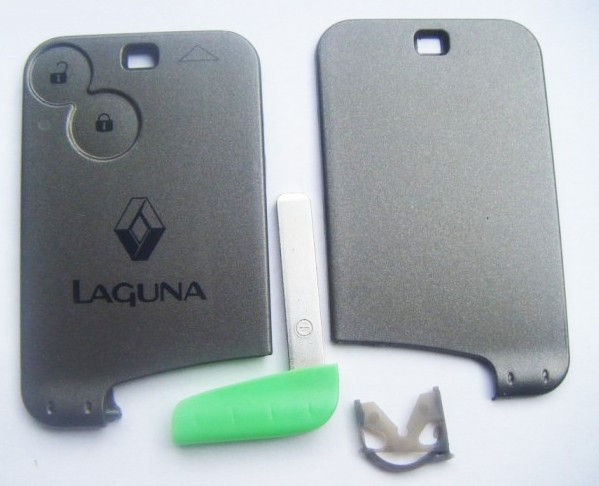 Carcasa Cheie Card Telecomanda 2 Butoane Renault Laguna OEM: 7701209122