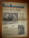 Ziarul viata studenteasca  6 martie 1974 ( vizita lui ceausescu in libia )