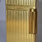 Bricheta S.T. Dupont GOLD MONTPARNASSE - Bricheta Zippo Dupont, Moderna (1970 -acum)