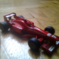 Macheta auto metal Formula 1 marca Siku originala scara 1/43 Turbo Speed Star 7 race car racing cu pilot