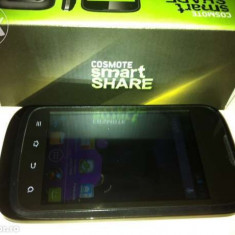 Vand Cosmote Smart Share (ZTE) e App Nou - Telefon mobil ZTE, Negru, 4GB, Neblocat, Quad core, 512 MB
