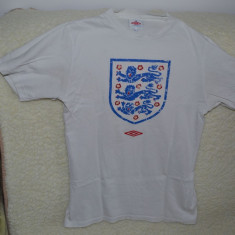 Tricou UMBRO - England mar. S / Tricou England (UMBRO) mar. S - Tricou barbati Umbro, Marime: S, Culoare: Alb