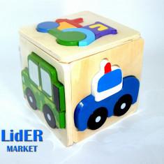 Puzzle din lemn - O multime de modele!, 2D (plan), Unisex