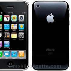 iPhone 3G Apple 8GB Neverlocked, Negru, Neblocat