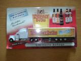 690.Macheta camion Kenworth T 800 reclama Burgerbrau scara 1:64