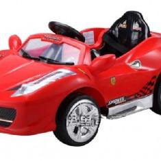 Masina electrica pentru copii tip Ferrari cu telecomanda - Masinuta electrica copii