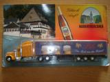689.Macheta camion  Kenworth T 800 reclama Markneukirchner bier scara 1:64
