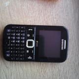 Samsung dual sim GT-E2222 - Telefon Samsung, Negru, <1GB, Neblocat, Fara procesor