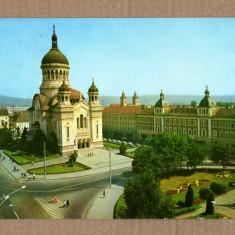CLUJ-NAPOCA PIATA VICTORIEI 1978 - Carte Postala Transilvania dupa 1918, Circulata
