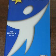 Brosura turistica ETAP HOTEL 214 HOTELURI FRANTA - Reclama Tiparita