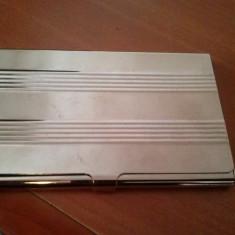 Cutie metalica de protectie card de credit sau carti de vizita - Card Bancar