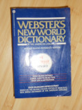 WEBSTER'S NEW WORLD DICTIONARY, Alta editura