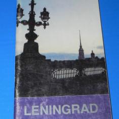 GHID TURISTIC LENINGRAD, 1991. LIMBA FRANCEZA
