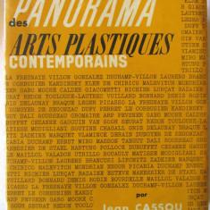 PANORAMA DES ARTS PLASTIQUES CONTEMPORAINS, Jean Cassou, 1960. 117 reproduceri