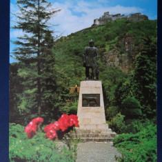 CP - Deva - Statuia lui Decebal - Circulat
