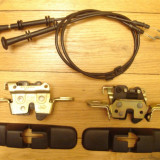 ansamblu mecanism blocare + cablu cu maner pt rabatarea bachetei spate [bancheta spatar] FORD mondeo sedan 4 usi mk2 anii 1996 - 2000 din dezmembrare