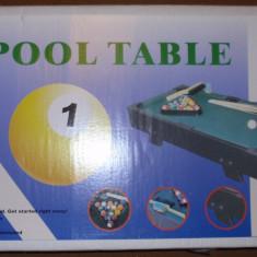 Joc de biliard - mini pool - de masa - Masa biliard