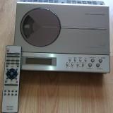 Minisistem - combina audio Sharp XL-T300H - CD + caseta + radio RDS + telecomanada originala