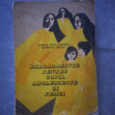 IMBRACAMINTE PENTRU COPII, ADOLESCENTI SI FEMEI - NATALIA TAUTU -STANESCU, GEORGETA STOIAN C7 325 - Carte design vestimentar