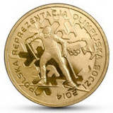 Polonia 2 zloty 2014 UNC Sochi, Olimpiada de Iarna