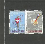 Luxembourg 1962 - CICLISM, serie nestampilata T210, Sport, Nestampilat