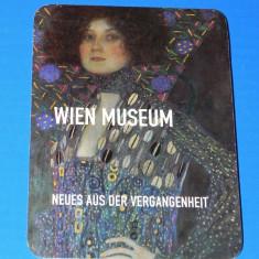 Pliant turistic muzeele vienei. Wien museum - Reclama Tiparita
