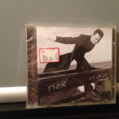NEK - IN DUE (1998/WARNER MUSIC /GERMANY ) - CD/POP - NOU/SIGILAT - Muzica Rock