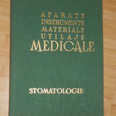 APARATE, INSTRUMENTE, MATERIALE, UTILAJE MEDICALE STOMATOLOGICE