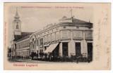 LUGOJ- LUGOS ,CAFENEAUA AMIGO ,BISERICA CATOLICA ,CIRCULAT 1901