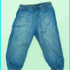 Blugi de vara, subtiri, elastic in talie, H&M → fetite | 18—24 luni | 86—92 cm, Alta, Fete