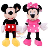 MICKEY MOUSE SI MINIE MOUSE DIN CLUB HOUSE MICKEY in VARIANTA MARE 90 CM