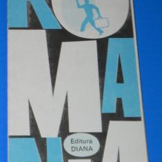 ROMANIA HARTA TURISTICA 1991. ION IORDAN