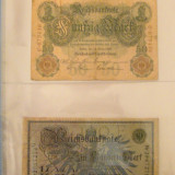 (M) Germania - Lot de 45 bancnote Germania 1906 - 1948