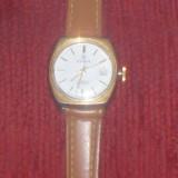 CEAS DE DAMA, ELVETIAN, OLMA - OKAZIE - Ceas dama, Casual, Quartz, Placat cu aur, Piele, Calendar perpetuu