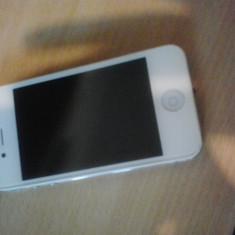 IPhone 4 Alb Neverlocked Apple, 2G & 3G, GPS: 1, Camera video: 1, Camera secundara: 1, Blitz camera: 1